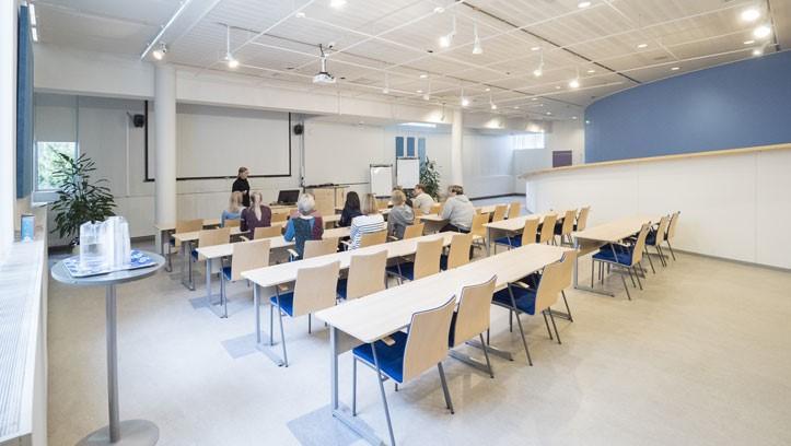Talvi-tila takaaa kuvattuna koulutuskäytössä
