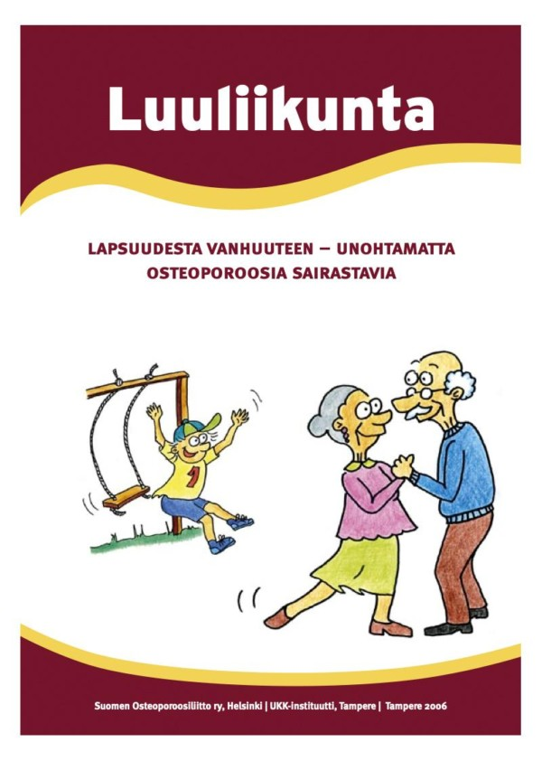Luuliikuntasuositusasiakirja, kuvituskuva.