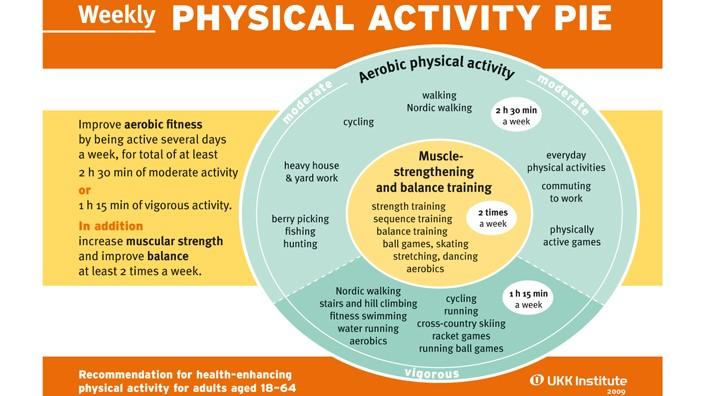 Physical Activity Pie