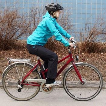 Pyöräily, hyvä asento