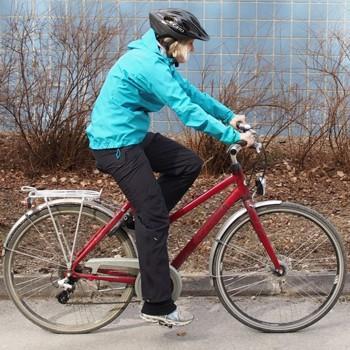 Pyöräily, huono asento