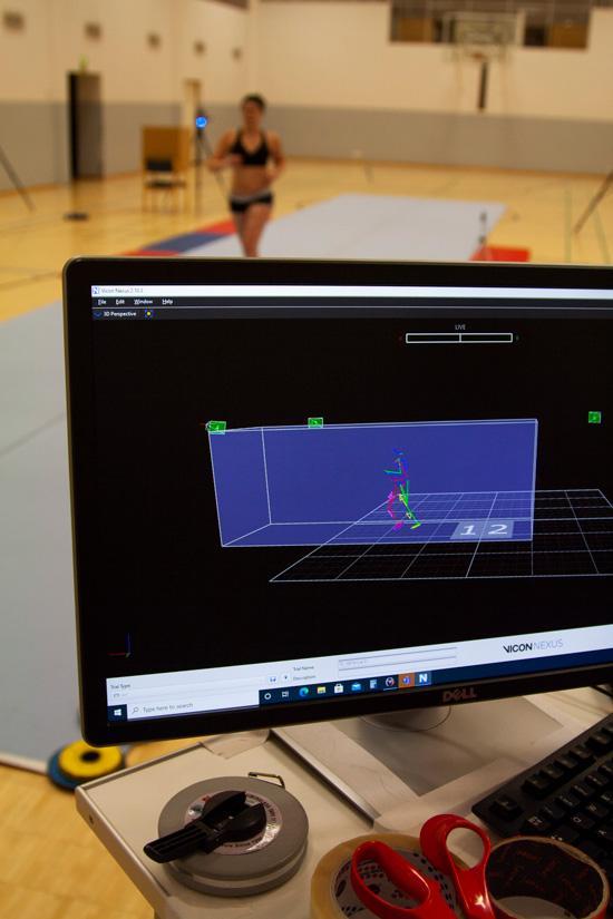 3D-laboratorion kuvaa tutkittavasta tietokoneen ruudulla.